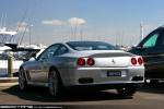 Exotic Spotting in Melbourne: Ferrari 575 Maranello - rear left (St Kilda, Vic, 20 Mar 2010)