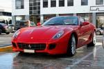 Left   Exotic Spotting in Melbourne: Ferrari 599 GTB Fiorano - front left 4 (Richmond, Vic, 16 Aug 08)