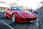 Ferrari   Exotic Spotting in Melbourne: Ferrari 599 GTB Fiorano - front right (South Melbourne, Vic, 23 Aug 08)