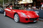 Car   Exotic Spotting in Melbourne: Ferrari 599 GTB Fiorano - front right 1 (Lygon St, Carlton, Vic, 16 March 08)a