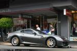 Exotic Spotting in Melbourne: Ferrari 599 GTB Fiorano - front right 2 (Camberwell, Vic, 20 Feb 2010)