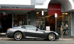 Feb   Exotic Spotting in Melbourne: Ferrari 599 GTB Fiorano - profile right (Camberwell, Vic, 20 Feb 2010)