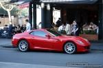 South   Exotic Spotting in Melbourne: Ferrari 599 GTB Fiorano - profile right (South Yarra, Vic)