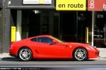 Ferrari   Exotic Spotting in Melbourne: Ferrari 599 GTB Fiorano - profile right (South Yarra, Vic, 17 Apr 2010)
