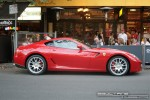 Car   Exotic Spotting in Melbourne: Ferrari 599 GTB Fiorano - profile right 2 (Lygon St, Carlton, Vic, 16 March 08)