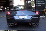 Exotic Spotting in Melbourne: Ferrari 599 GTB Fiorano - rear (Crown, Vic, 3 Sept 09)