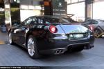 Left   Exotic Spotting in Melbourne: Ferrari 599 GTB Fiorano - rear left (Crown, Vic, 3 Sept 09)