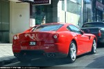Right   Exotic Spotting in Melbourne: Ferrari 599 GTB Fiorano - rear right (South Yarra, Vic, 17 Apr 2010)