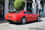 Ferrari   Exotic Spotting in Melbourne: Ferrari 599 GTB Fiorano - rear right 2 (Toorak, Vic, 15 Feb 09)