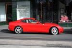 Photos street Australia Exotic Spotting in Melbourne: Ferrari 612 Scaglietti - profile right (Armadale, Vic 2 Aug 08)