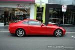 Right   Exotic Spotting in Melbourne: Ferrari 612 Scaglietti - profile right 1 (South Yarra, Vic, 30 March 08)
