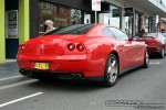 South   Exotic Spotting in Melbourne: Ferrari 612 Scaglietti - rear right 1 (South Yarra, Vic, 30 March 08)