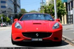 For   Exotic Spotting in Melbourne: Ferrari California - front (Albert Park, Vic, 28 Dec 09)