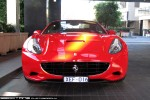 For   Exotic Spotting in Melbourne: Ferrari California - front (Crown, Vic, 13 Aug 09)