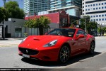 For   Exotic Spotting in Melbourne: Ferrari California - front left 1 (Albert Park, Vic, 28 Dec 09)