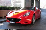For   Exotic Spotting in Melbourne: Ferrari California - front left 1 (Crown, Vic, 13 Aug 09)