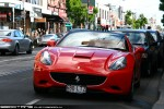 For   Exotic Spotting in Melbourne: Ferrari California - front left 1 (South Yarra, Vic, 25 Oct 09)