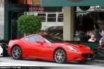 For   Exotic Spotting in Melbourne: Ferrari California - front right (Toorak, Vic, 18 Apr 2010)
