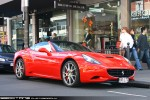 South   Exotic Spotting in Melbourne: Ferrari California - front right 2 (South Yarra, Vic, 25 Oct 09)