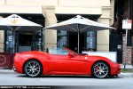 For   Exotic Spotting in Melbourne: Ferrari California - profile right 1 (St Kilda, Vic, 14 Nov 09)a