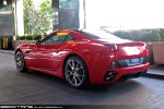 For   Exotic Spotting in Melbourne: Ferrari California - rear left (Crown, Vic, 13 Aug 09)
