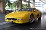 Ferrari   Exotic Spotting in Melbourne: Ferrari F355 Berlinetta - front left (Crown Casina, Vic, 29 Oct 08)