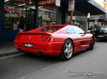 Ferrari   Exotic Spotting in Melbourne: Ferrari F355 Berlinetta - rear right 2W (Prahran, Vic, 24 March 08)