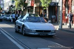 Exotic Spotting in Melbourne: Ferrari F355 Spider - A front right (South Yarra, Vic, 4 Oct 08)