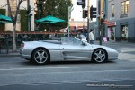 Ferrari   Exotic Spotting in Melbourne: Ferrari F355 Spider - A profile right (South Yarra, Vic, 4 Oct 08)