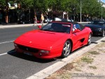 98octane Photos Exotic Spotting in Melbourne: Ferrari F355 Spider - front left (St Kilda, Vic, 2 March 08)