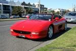 Ferrari   Exotic Spotting in Melbourne: Ferrari F355 Spider - front left 1a (Middle Park, Vic)