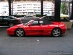 Left   Exotic Spotting in Melbourne: Ferrari F355 Spider - profile left (Crown Casino, Vic, 08)