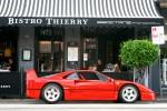 Right   Exotic Spotting in Melbourne: Ferrari F40 - profile right (Toorak, Vic, 18 Apr 2010)