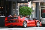 Ferrari   Exotic Spotting in Melbourne: Ferrari F40 - rear right 1 (Toorak, Vic, 18 Apr 2010)