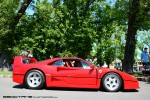 23   Picnic with the Classics (Carlton, 23 Oct 2010): Ferrari F40 - right profile 1 (Carlton, Vic, 23 Oct 2010)