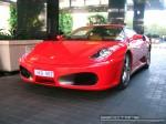 FE   Exotic Spotting in Melbourne: Ferrari F430 - fron left (Crown Casino, Vic, 23 May 08)