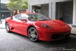 Exotic Spotting in Melbourne: Ferrari F430 - front right (Southbank, Vic, 14 Nov 08)