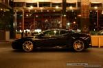 Left   Exotic Spotting in Melbourne: Ferrari F430 - profile left 1 (Crown Casino, Victoria, 27 Feb 09)
