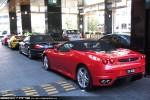 F430   Exotic Spotting in Melbourne: Ferrari F430 - rear left (Crown, Vic, 25 Mar 09)
