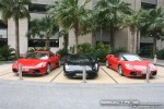 On   Exotics in Dubai: Ferrari F430 Coupe   Spider + Lamborghini Gallardo - front