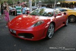 Left   Exotic Spotting in Melbourne: Ferrari F430 Spider [ALI-430] - front left 2 (Lygon St, Carlton, Vic, 16 March 08)