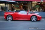 Ferrari   Exotic Spotting in Melbourne: Ferrari F430 Spider [PROVAC] - profile right (Lygon St, Carlton, Vic, 16 March 08)