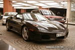 Ferrari   Exotics in Dubai: Ferrari F430 Spider - B front right (black)