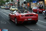 South   Exotic Spotting in Melbourne: Ferrari F430 Spider - C rear left (South Yarra, Vic, 4 Oct 08)
