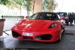 F430   Exotic Spotting in Melbourne: Ferrari F430 Spider - front (Crown Casino, Victoria, 15 April 09)