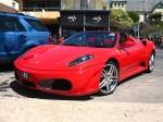 Left   Exotics on Victoria's Surf Coast: Ferrari F430 Spider - front left (Lorne, Vic, 11 Nov 07)