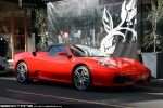 Right   Exotic Spotting in Melbourne: Ferrari F430 Spider - front right (South Yarra, Vic, 23 Aug 09)