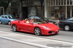 South   Exotic Spotting in Melbourne: Ferrari F430 Spider - front right (South Yarra, Vic, 2 Nov 08)