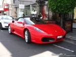 Right   Exotic Spotting in Melbourne: Ferrari F430 Spider - front right 2 (Toorak, Vic, 15 March 08)