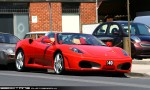 Exotic Spotting in Melbourne: Ferrari F430 Spider - front right 2 (Toorak, Vic, 24 Oct 09)a